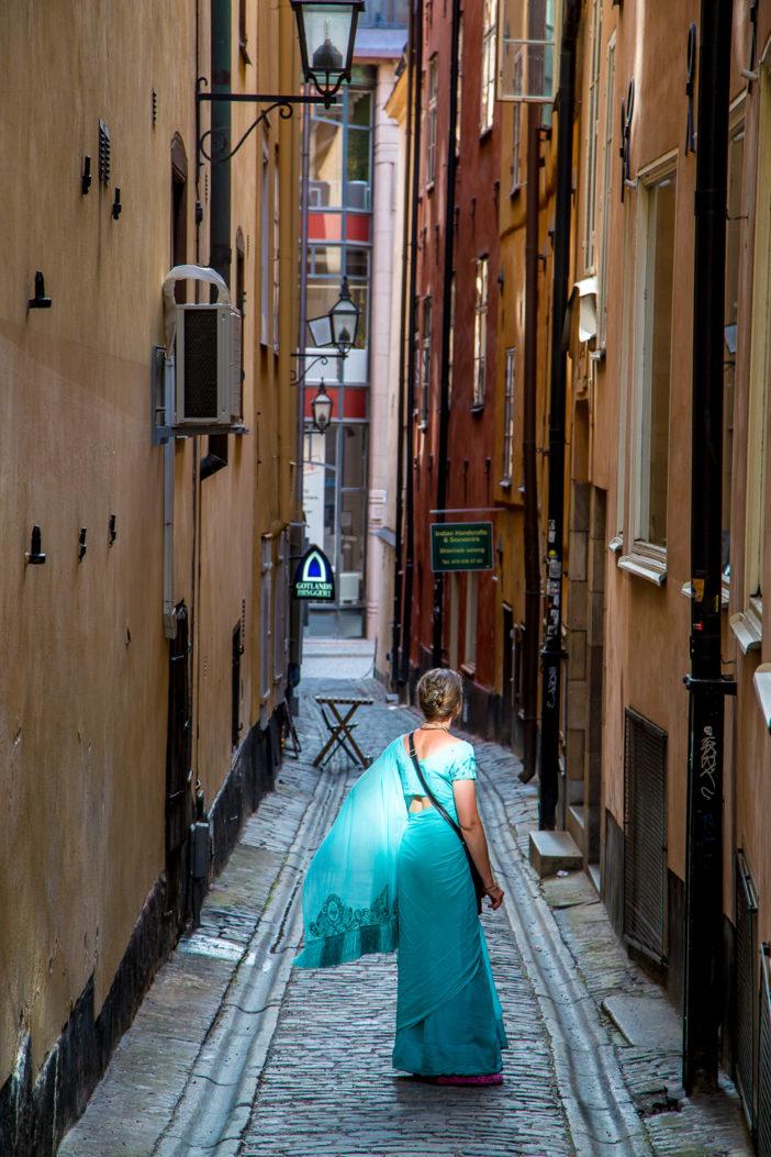 In den Straßen von Stockholm
