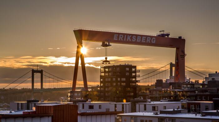 Sonnenuntergang Göteborg