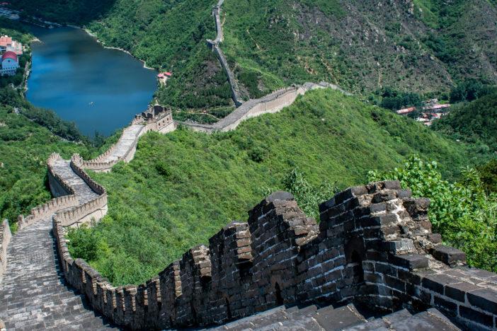 Durch Bilder von China das Land kennenlernen: Chinesische Mauer