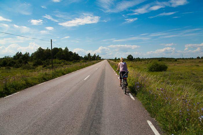 Auf dem Rad durch Schweden