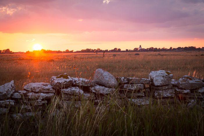Schwedischer Sonnenuntergang - kann sich sehen lassen