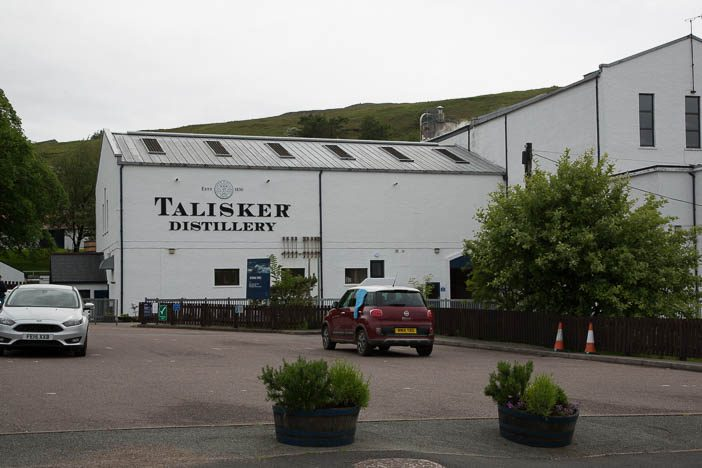 Talisker Destillerie in Carbost
