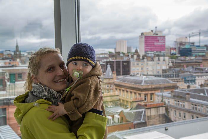 Glasgow von oben