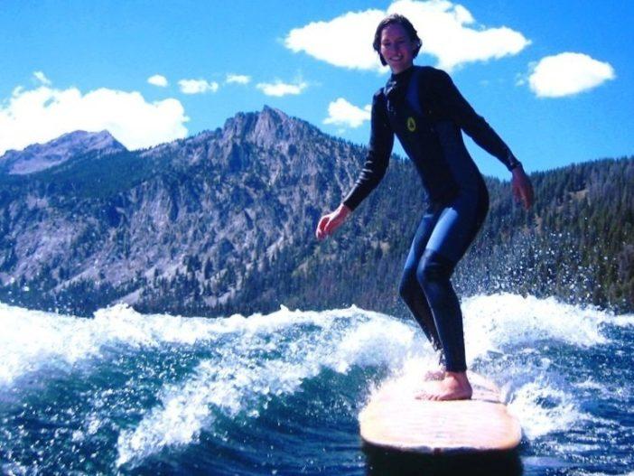 Surfing in Idaho