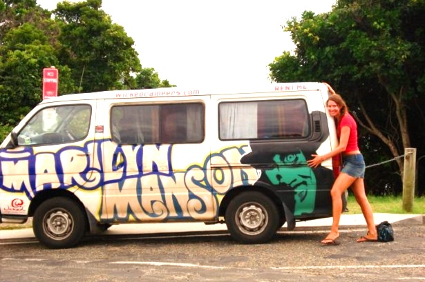 Wicked-Camper-Bus Australien