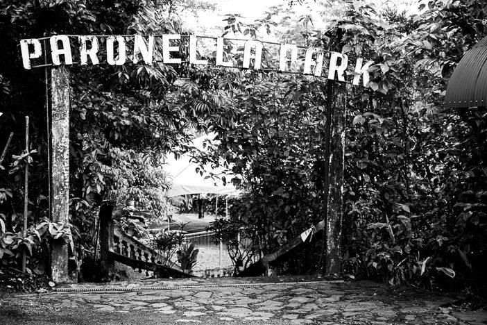 Eingang zum Paronella Park