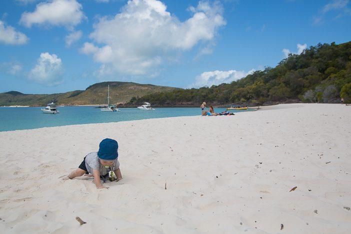 Paul entdeckt den reinsten Sandstrand der Welt