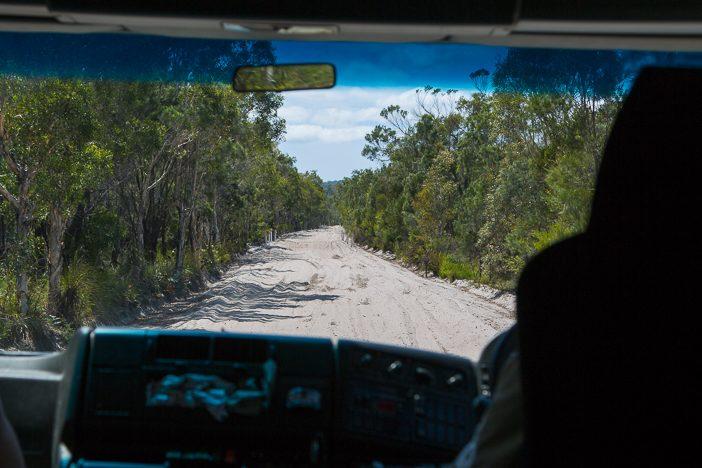 4WD-Tour durch den Regenwald auf Fraser Island