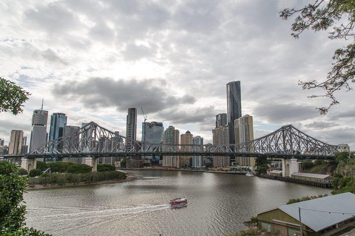 Brisbanes Skyline