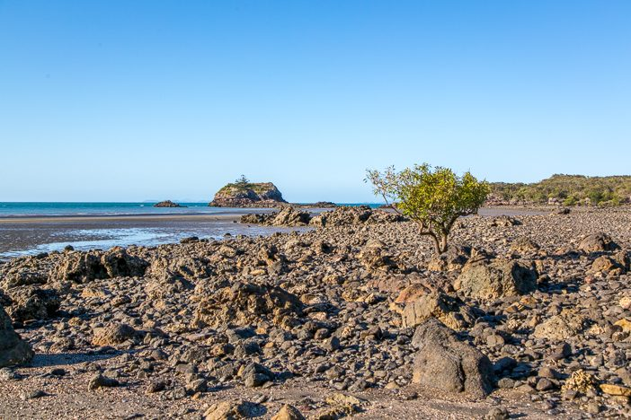 Andrews Point Track: Bei Ebbe am Strand entlang den Rückweg antreten