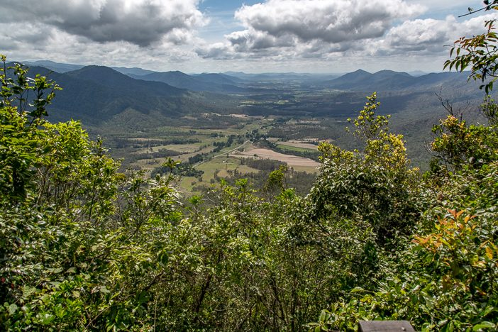 Ausblick Skyview Eungella Nationalpark