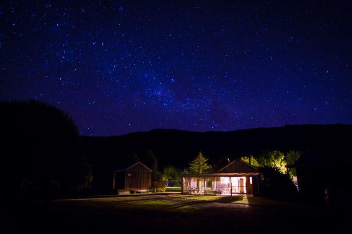 Die Farm bei Nacht - der Sternenhimmel war unglaublich schön