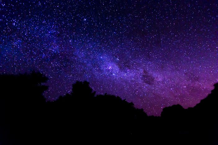 Die Milchstraße!