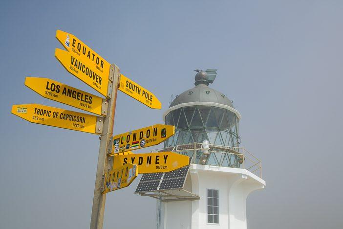 Cape Reinga gibt Ideen für weitere Routenverläufe
