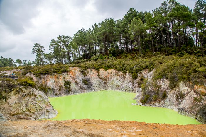 Gift-Grüner See - der sieht schon fast unecht aus