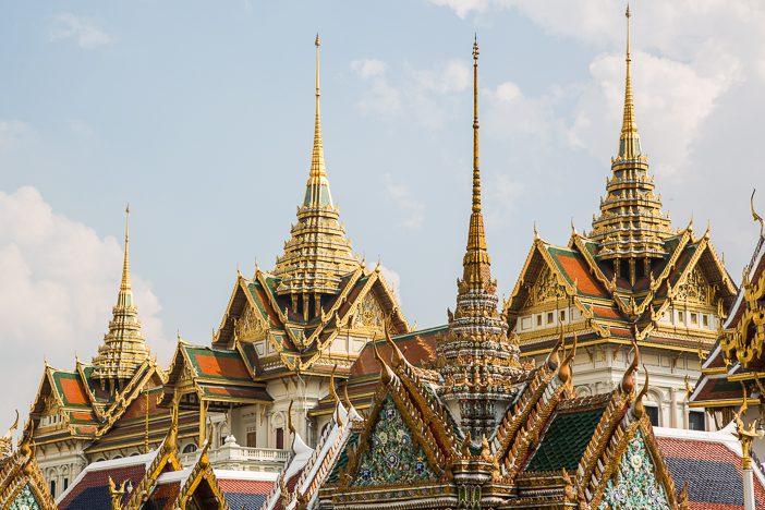 Wunderschöne Anlage: Der Königspalast