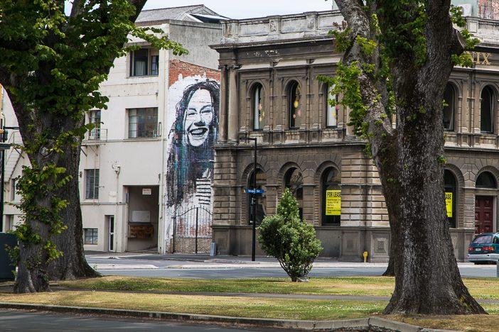 Dunedin ist voll von Street-Art