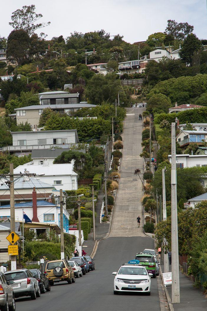 Die steilste Straße der Welt: Baldwin Street