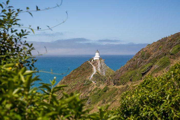 Der Leuchtturm am Nugget-Point