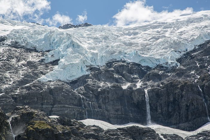 Der Rob Roy Gletscher