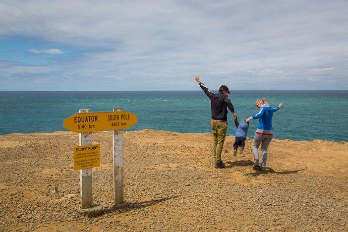 Unser Ende der Welt: Der Slope Point