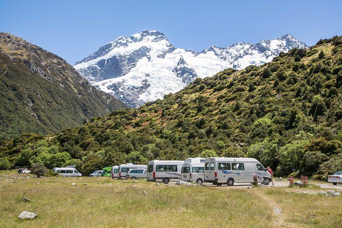 White Horse Hill Stellplätze für die Camper-Vans