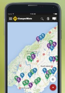 camp mate neuseeland