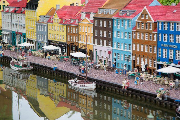 Kopenhagen in der Miniaturwelt im Legoland