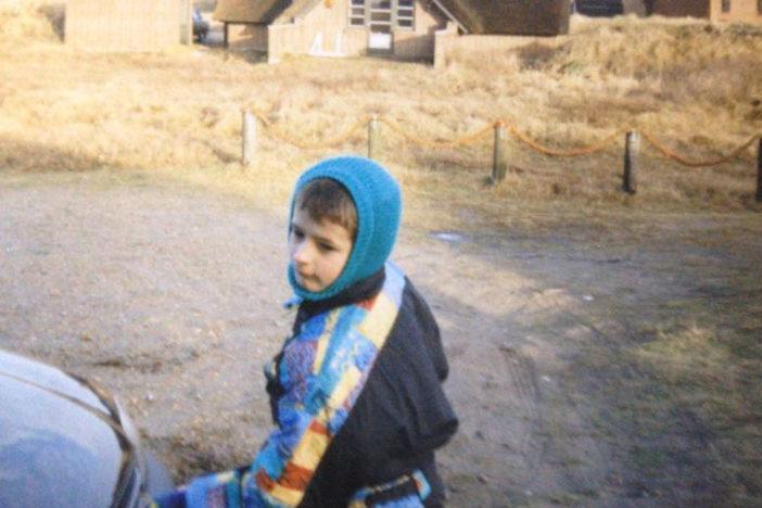 Ich selbst in Dänemark, vor etwa 20 Jahren