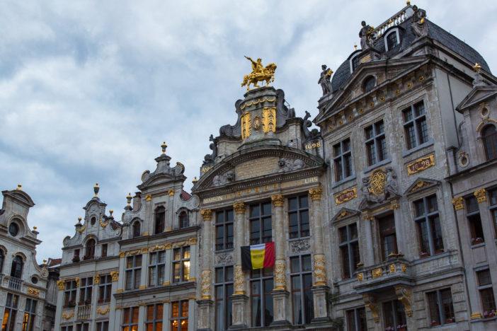 Häuser am Grote Markt (Grand Place) in Brüssel
