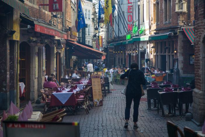 Rue des Bouchers in Brüssel